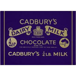 Cadbury's Dairy Milk Essuie-mains 50 x 70 cm