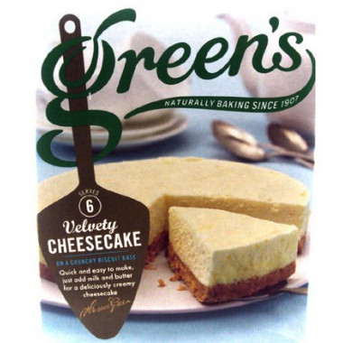 Cheesecake Mix Green's 259g