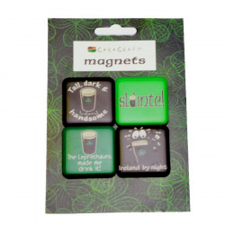 "Set 4 Magnets ""slàinte"""