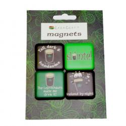 "Set 4 Magnets ""slàinte"""