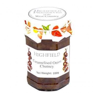 Chutney Oignons caramélisés Highfield Preserves 280g