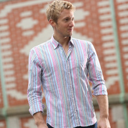Chemise Rayée Multicolore Out of Ireland