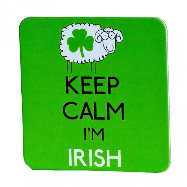 Coaster Keep Calm Sheep