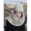 Bonnet Aran Ecru Inis Craft