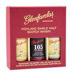 Glenfarclas Collection 10 ans/12 ans/105 3x5cl