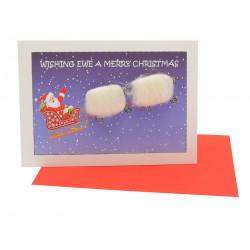 Carte Postale Merry Christmas Père Noël