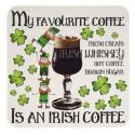 Coaster Irish Coffee