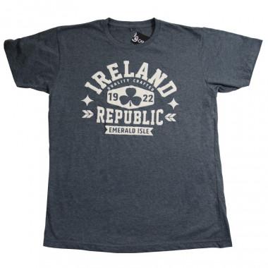 T-shirt Ireland Republic Gris Chiné