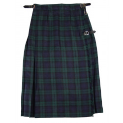 Kilt Long Blackwatch Whiterose