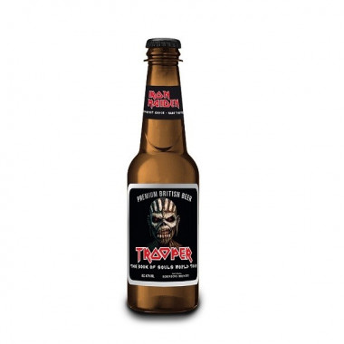 Trooper Iron Maiden Book of Souls World Tour 50cl 4.7°