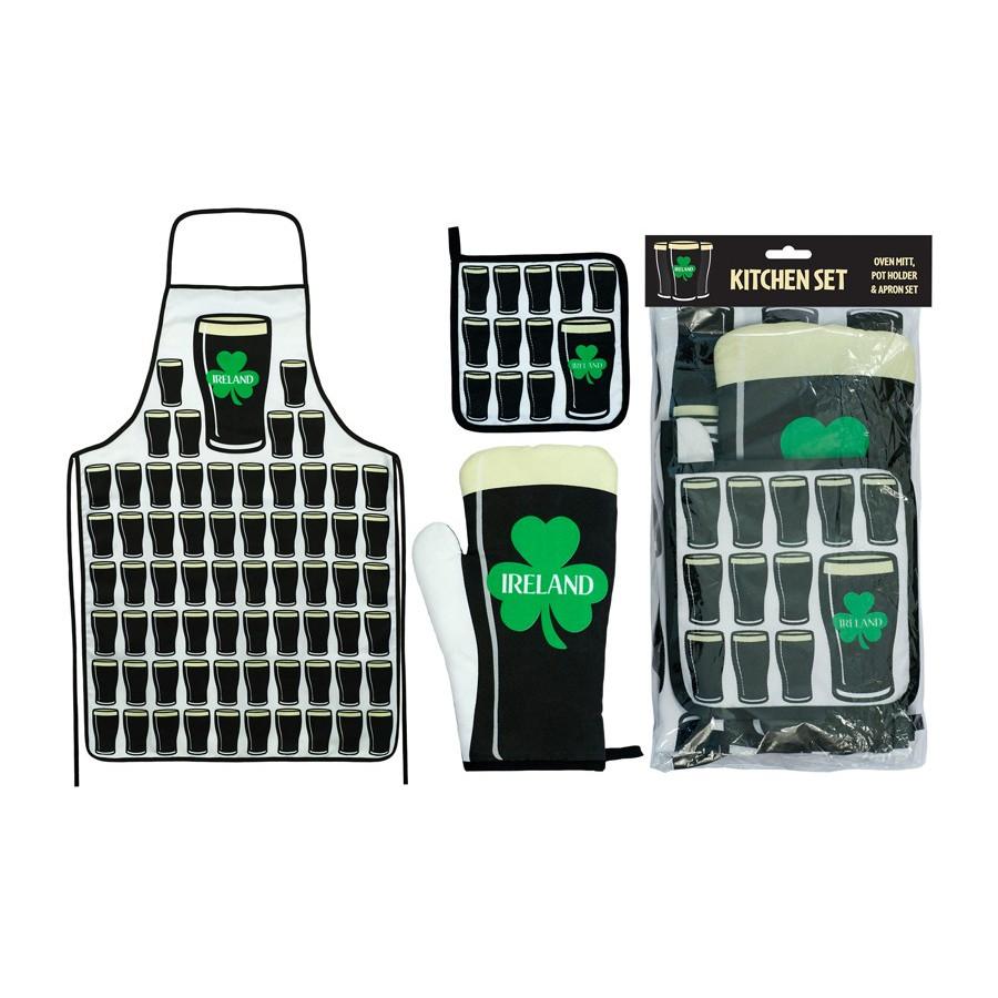 gants de cuisine maniques avec des motifs le comptoir irlandais. Black Bedroom Furniture Sets. Home Design Ideas