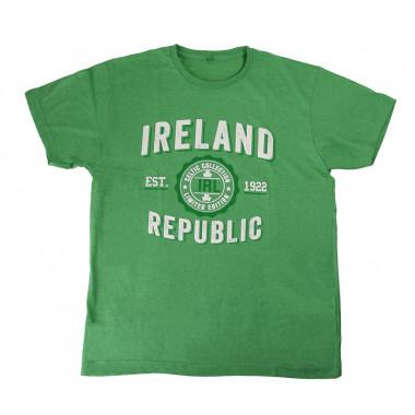 T-Shirt Irlande Vert Chine