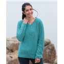 Pull V Turquoise Out of Ireland