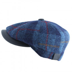 Casquette Harris Tweed Bleue Celtic Alliance