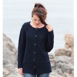 Cardigan Long Marine Out of Ireland