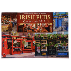 Calendrier 2017 Irish Pubs 20.5x29.5cm