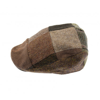 Casquette Donegal Patch Marron Hanna Hats