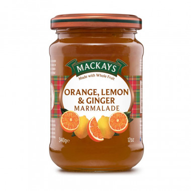 Marmelade Orange & Citron Mackays 340g