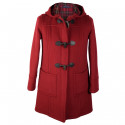 Duffle-Coat Fiona Zippé Carmin London Tradition