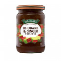 Confiture Rhubarbe & Gingembre Mackays 340g