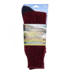 Chaussettes Courtes Bicolores Marine/Rouge