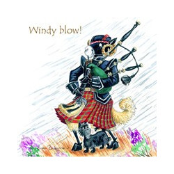 Dessous de Verre Windy Blow