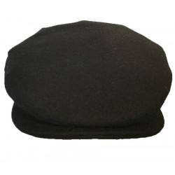 Casquette Unie Noir Hanna Hats