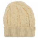 Inis Crafts Honeycomb Ecru Hat