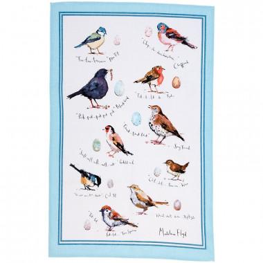 Oiseaux Essuie-mains 48 x 74 cm