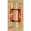 Christmas Crackers Kraft x6 Tom Smith