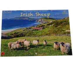 Calendrier A4 Moutons Irlandais 2018