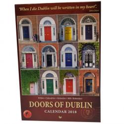 Calendrier  Portes de Dublin 2018 21x14.5cm