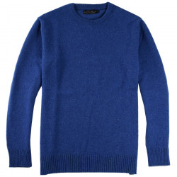 Celtic Alliance Blue Lambswool Sweater