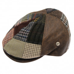 Celtic Alliance Suedine Tweed Patch Cap