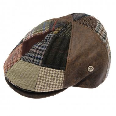 Celtic Alliance Suedine Tweed Patch Cap