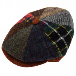 Casquette Irlandaise Harris Tweed Celtic Alliance