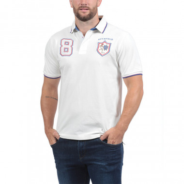 Polo Piqué Blanc Ruckfield