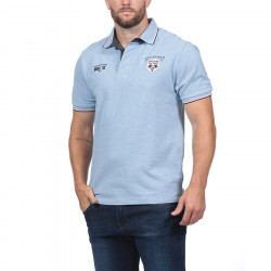 Ruckfield Light Blue Piqué Polo