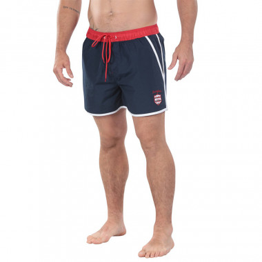 Ruckfield Navy Blue Swim Shorts