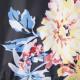 Parka Marine Imprimée Fleurs Tom Joule