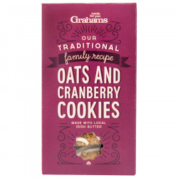 Cranberry cookies 135g grahams