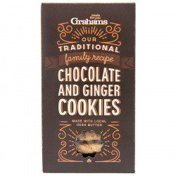 Cookies Chocolat et Gingembre Grahams 135g