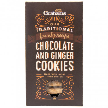 Choc & ginger cookies 135g grahams