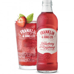 Franklin & Sons Strawberry and Rasperry Soda 275ml