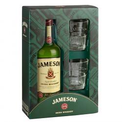 Coffret Jameson + 2 Verres 70cl 40°