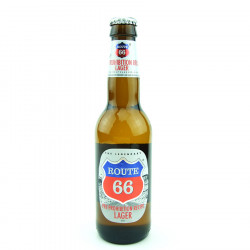 Route 66 Pre-prohibition Lager 33cl 4.9°