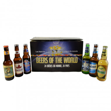 Box beer of the world 24 bieres 24 pays