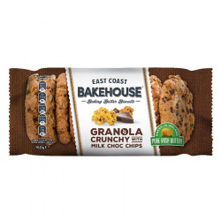 Cookies granola chocolat 160g east coast bakehouse