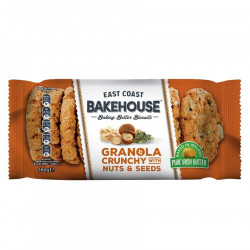 East Coast Bakehouse Granola nuts And seeds cookies 160g