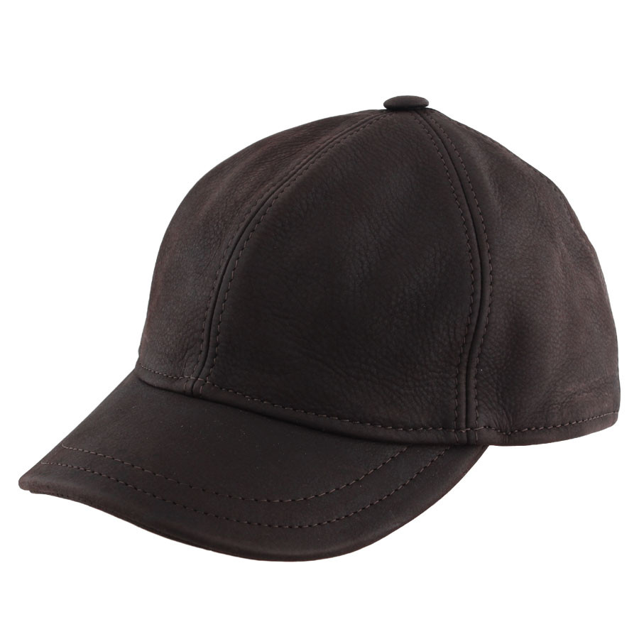 db03312a48658 Celtic Alliance Brown Leather Baseball Cap